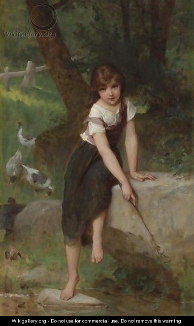 Goose Girl - Emile Munier