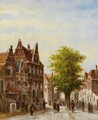 A View Of Voorburg In Summer - Pieter Gerard Vertin