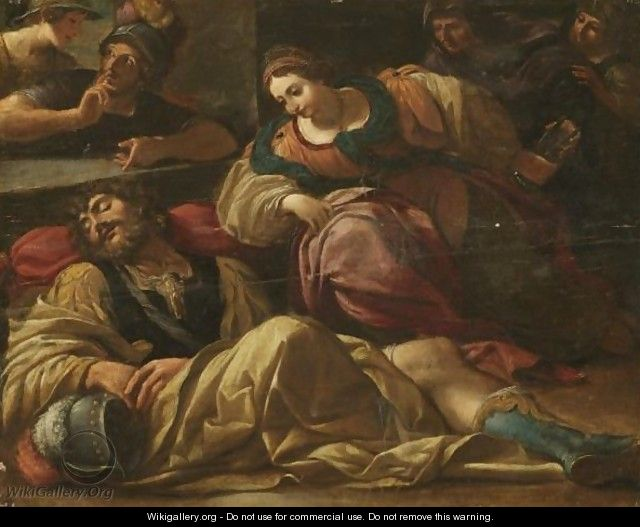 Samson And Delilah - Emilian School