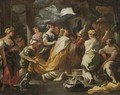 The Idolatry Of Solomon - (after) Luca Giordano