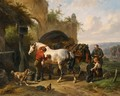 Tending The Horses 2 - Wouterus Verschuur
