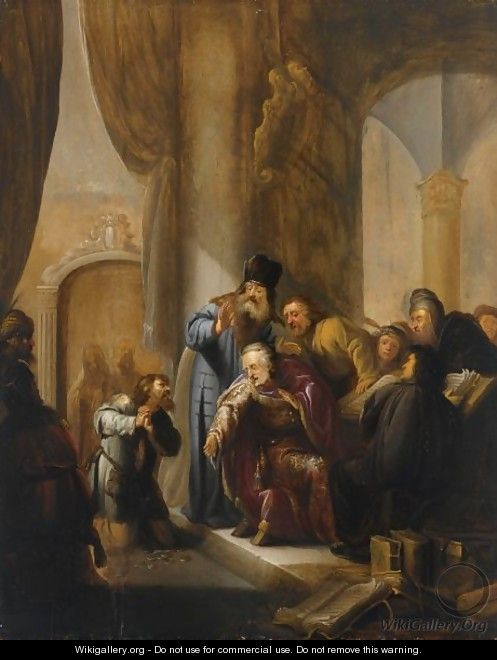 The Remorse Of Judas - Jacob Willemsz de Wet the Elder