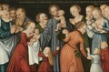 Christ Blessing The Children - Lucas The Younger Cranach