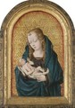 Virgin And Child With A Rosary - Netherlandish School