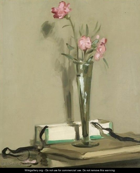 Still Life With Carnations - Samuel John Peploe