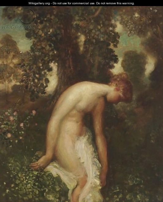 The Bather - Arthur Bowen Davies