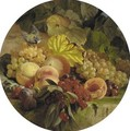 Still Life Of Fruit With Chaffinch - Theude Gronland