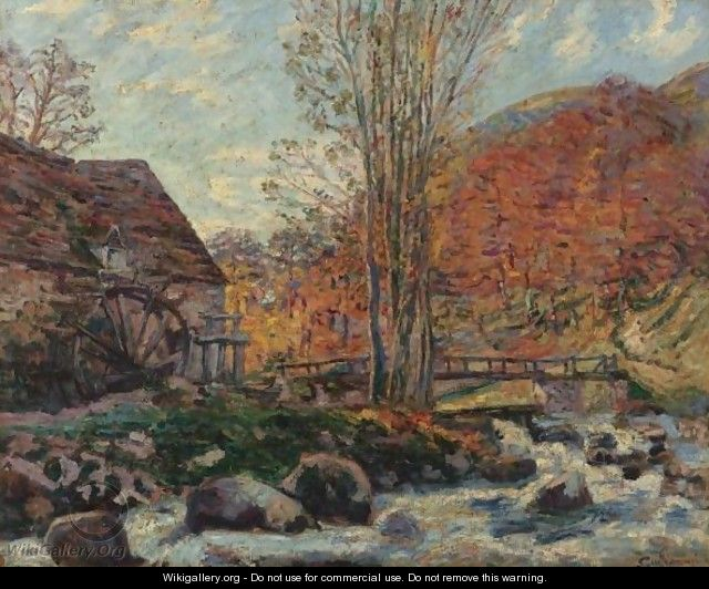 Le Moulin Brigand - Armand Guillaumin