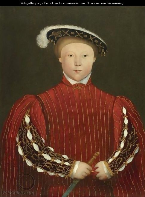 Portrait Of Edward, Prince Of Wales, Later King Edward VI (1537-1553) - Hans, the Younger Holbein
