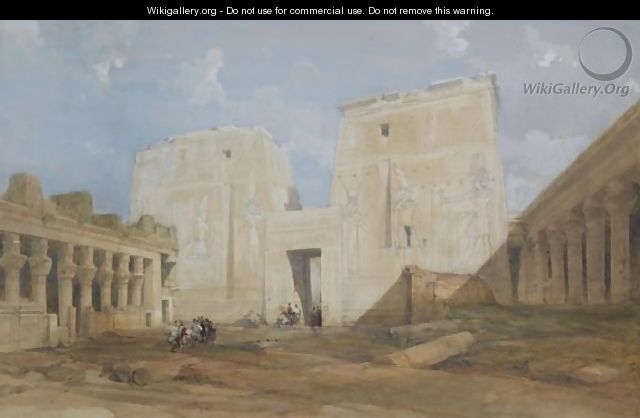 The Temple Of Philae, Egypt - David Roberts