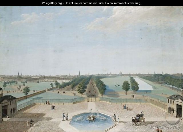 View Of St. James Park From Buckingham House - Karl-Georg Enslen
