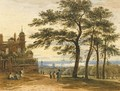 View Of London From Greenwich Observatory - John Varley