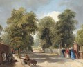 The Walk, Hampstead - John Scarlett Davis