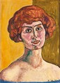 Portrait Of A Young Woman With Red Hair, 1912 - Ferdinand Hodler