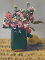 Pink Stock (Matthiola) And Lemon In A Basket, 1924 - Felix Edouard Vallotton