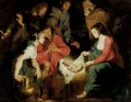 The Adoration Of The Shepherds 5 - (after) Sir Peter Paul Rubens