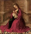 The Virgin And Child In An Interior - Adriaen Isenbrandt (Ysenbrandt)