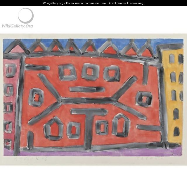 Palaste (Palace) - Paul Klee