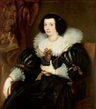 Portrait Of Anna Maria De Camudio - (after) Dyck, Sir Anthony van
