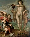 An Allegory Of Autumn - (after) Hendrick Goltzius
