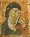 The Madonna And Child - (after) Duccio Di Buoninsegna