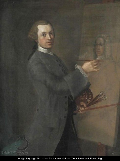 Portrait Of Anthony Highmore, The Artist