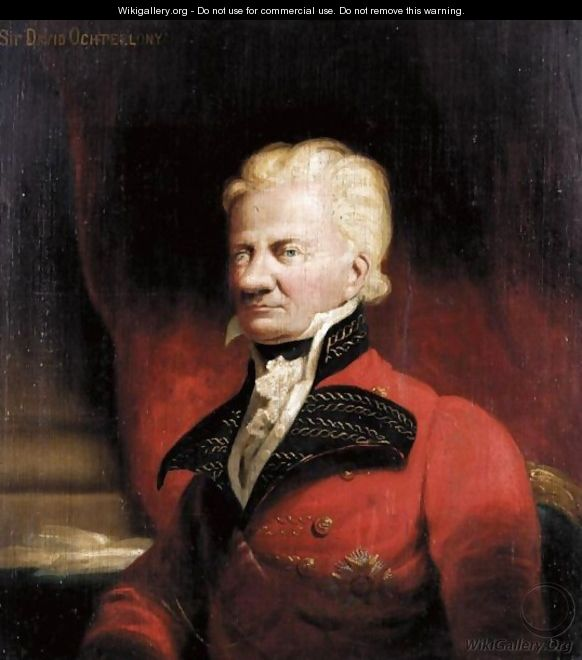 Portrait Of Sir John David Ochterlony, 1st Bt. (1758-1825) - Frederick Richard Say