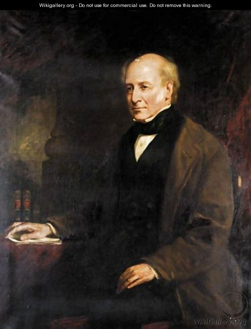 Portrait Of James Drummond (1788-1857), The Son Of The Hon William F. Elphinstone - (after) James Snr. Faed