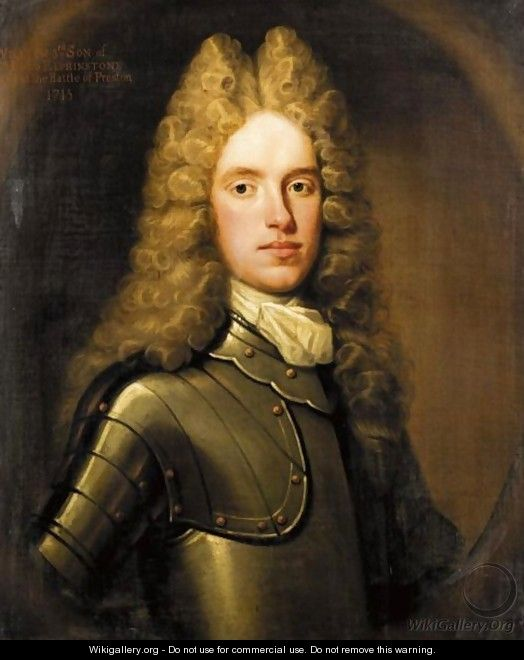 Portrait Of William, Son Of John, 8th Lord Elphinstone (D.1715) - William Aikman