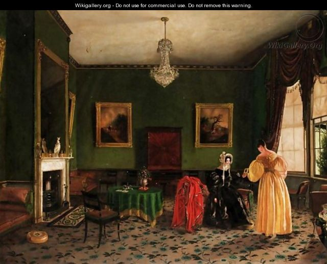 In The Drawing Room - English School