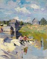 Fishing On A Sunny Day - Konstantin Alexeievitch Korovin