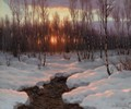 The Sunset - Ivan Fedorovich Choultse
