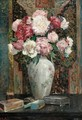 Still Life Of Flowers - Franz Roubaud