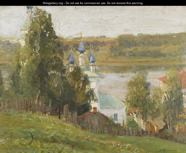 Church By The River - Russian School