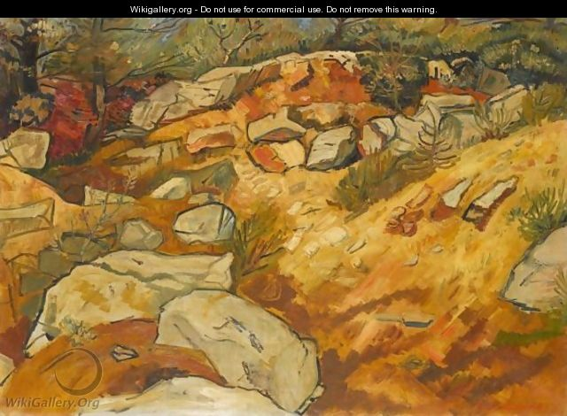 Rocks And Shingle - Abraham Mintchine