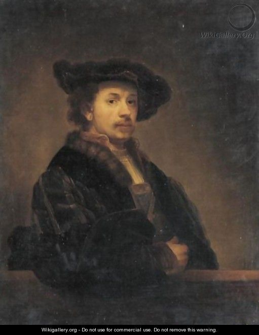 Portrait Of Rembrandt Van Rijn - (after) Rembrandt Van Rijn