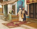 Leaving The Mosque - Rudolph Ernst