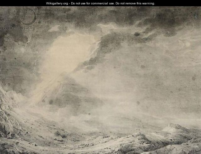 Mount Vesuvius - Josepf Wright Of Derby
