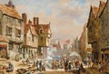 Market Day, Chester - Louise Rayner