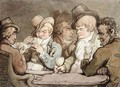 Characters Better Known Than Trusted - Thomas Rowlandson
