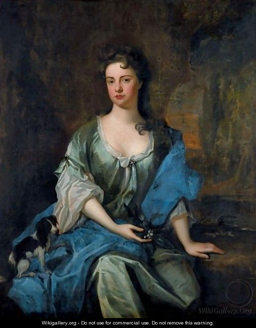Portrait Of Joane, Wife Of Arthur Ayshford - Sir Godfrey Kneller