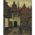 A Street In Holland - Eduard Karsen