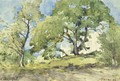View Of Menton - Henri-Joseph Harpignies
