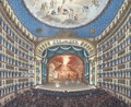 Interior Of San Carlo's Theatre In Naples - Ecole Italienne
