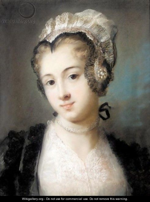 A Young Woman In Tyrolean Costume - Rosalba Carriera