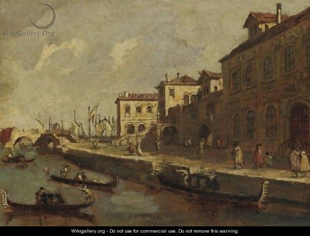 View Of Venice - (after) Francesco Guardi