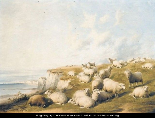 The Flock - Thomas Sidney Cooper