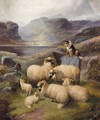 Guarding The Flock - John Barker