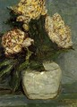 Flowers In A Stone Jar - Jan Adam Zandleven