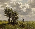 A Hunter In A Landscape - Willem Bastiaan Tholen